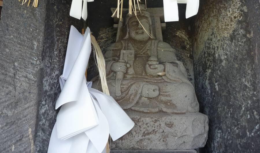 島田の天部形仏像