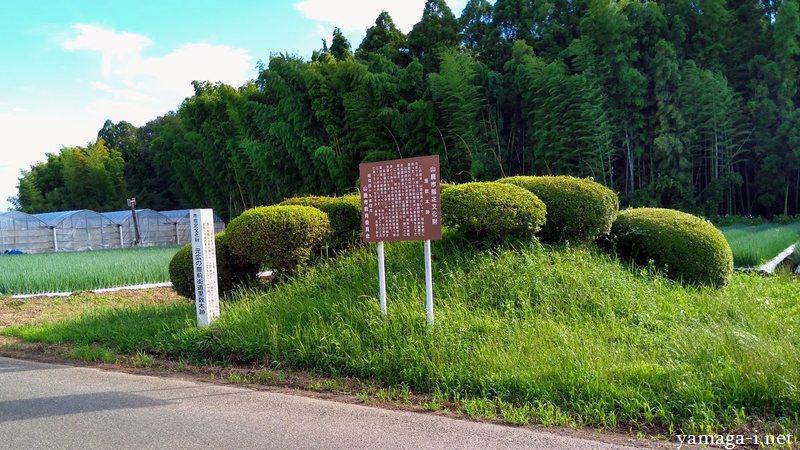 元広の豊前街道里数木跡
