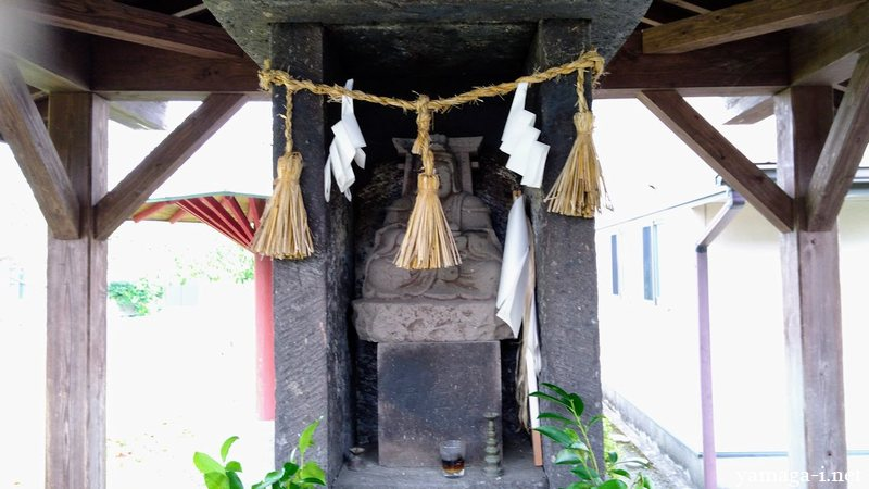 島田の鳥居を担う天部形仏神